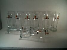 """SAN MIGUEL BEER GLASSES -TOTAL OF 9 - 0.5L - 7 3/4"""" TALL"""