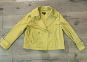 Women's Ann Taylor Yellow Blazer / Jacket - Medium
