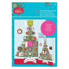 Papermania Folk Christmas Advent Card Making Kit BNIP
