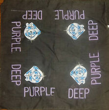 DEEP PURPLE Vintage Kerchief