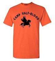 Camp Half Blood T-Shirt Long Island Sound Camp Jupiter Greek Mythology Tees