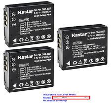 Kastar Replacement Battery for Panasonic CGA-S007 & Panasonic LUMIX DMC-TZ3S