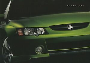 Holden Commodore VY Sales Brochure Different version with HSV Clubsport