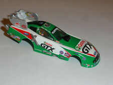 Autoworld Ford Mustang Ashley Force Funny 4 Gear Ho Slot Car Body Only Condition
