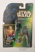 Star Wars The Power of the Force Boba Fett Action Figure 1997 Hasbro Kenner