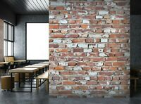 3D Vintage Brick P041 Business Wallpaper Wall Mural Self-adhesive Commerce Amy