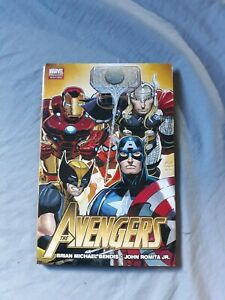 The Avengers by Brian Michael Bendis /John Romita Jr.-Marvel Hardcover