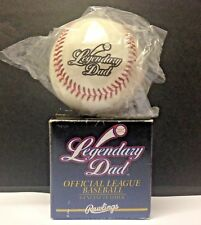 Vintage Rawlings Baseball LEGENDARY DAD Leather Sealed ORIGINAL BOX Father's Day