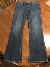 Women's Gently Used Rock & Republic Size 12 Distressed Jeans Medium Wash