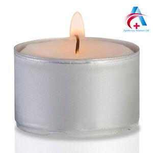 Tea Lights 4 Hour Long Unscented Burn Candle Tealights-100pk