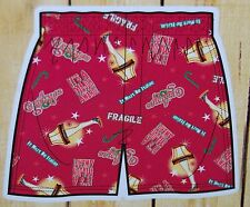 """NEW Men's Boxers in a Tin (Bank), """"A Christmas Story"""" Movie, Size Small"""