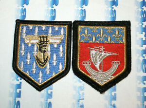 Set 2 Patch France Gendarmerie Nationale Centre