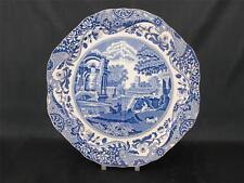 "Vintage Spode Blue Italian Quartered 10"" Sandwich/Cake Serving Plate        s821"