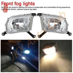 LH + RH Fog Lights Bumper Lamp For Buick Daewoo Chevrolet  Excelle HRV 2003-2007
