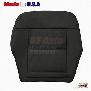 Driver Lower Vinyl Seat Cover 2010 2011 2012 2013 2014 Mercedes-Benz E350 Black
