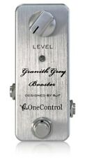 One Control Granith Grey Booster Guitar Effect Pedal