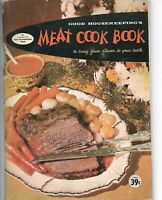 Vintage 1958 Good Housekeeping's Meat Cook Book Cookbook Traditional Recipes EX+