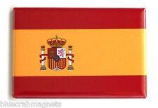 Flag of Spain FRIDGE MAGNET (2 x 3 inches)