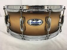 "Pearl Masters Complete MCT 14"" X 5.5"" Snare Drum/#351/Satin Natural Burst/New"