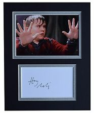 Harry Melling Signed Autograph 10x8 photo display Harry Potter Film AFTAL COA