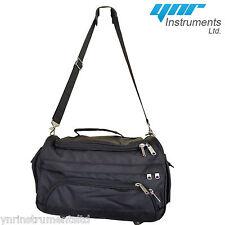 YNR Beauty Makeup Medical Hair Tools Bag Black Cosmetics Storage Travel Bags