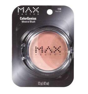 Max Factor ColorGenius Mineral Blush, 110 PEACHES, 12g