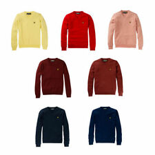 Lyle & Scott Men's No Pattern V Neck Jumpers & Cardigans