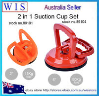 2/PK Suction Cup Dent Puller Remover,Bodywork Panel Remover Tool Handle