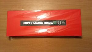 Super Mario Bros 35th Anniversary Pin Set # 2 Sealed New in Box My Nintendo rare
