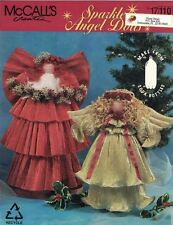 McCalls SPARKLE ANGEL DOLLS 17110 Made from 2 Liter Bottles Recycle Upcycle