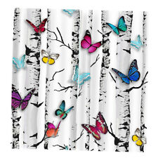 2 Panel Blackout Butterfly Photo Curtain Drapes Home Children's Room Decor