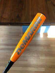 "2016 DEMARINI CF8 CFX16 NEON ORANGE 29/19 29"" 19 OZ. 1.15 USSSA BASEBALL BAT HOT"