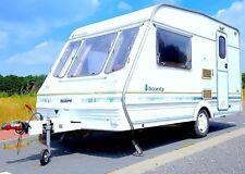 WOHNWAGEN Swift Bounty Caravan Wohnanhänger 3Bett WC Dusche Küche Antischlinger
