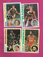 1978-79 TOPPS BASKETBALL NBA PLAYERS  NRMT-MT  CARD LOT (INV# C4997)