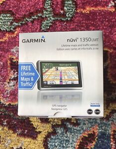 Garmin nüvi 1350LMT Automotive Mountable