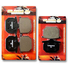 Honda F+R Brake Rotor Pads GL 1100 Goldwing Interstate (80-81) & A/DA/B/DB SC02