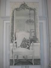 toile décorative trompe l'oeil esprit 18 ème le Miroir déco  Mathilde M