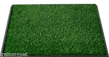 "Pet Potty Dog Training Grass Pad Zoom Park Patch Mat Indoor 25"" x 20"" x 2"" New"