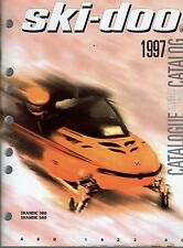 1997 SKI-DOO SKANDIC 380 & 500 SNOWMOBILE PARTS MANUAL P/N 480 1423 00  (505)