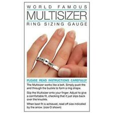 NEW RING SIZER GAUGE, MEASURES FINGER SIZE A TO Z