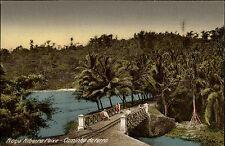 Santo tomé y príncipe ak ~ 1920/30 Roça Ribeira Peixe país insular Golfo de Guinea