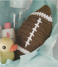 Crochet Pattern ~ BABY'S FIRST FOOTBALL ~ Instructions