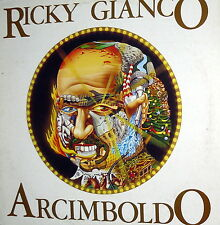 RICKY GIANCO LP ARCIMBOLDO 1978 ITALY ( MANFREDI ) ARRANG. FRANCO MUSSIDA  PFM