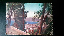 Vintage french Mar postcard Cannes postmarked March 1940