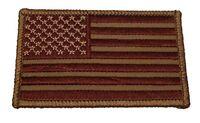 UNITED STATES US FLAG PATCH SUBDUED DESERT TAN PATRIOTIC STARS STRIPES