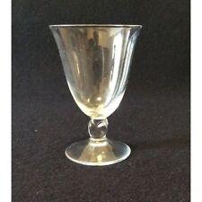 Daum H 9,5cm cristal verre à liqueur modèle Orval signé France