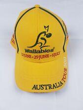Wallabies Rugby 2013 Australia Tour Cap Official Memorabilia