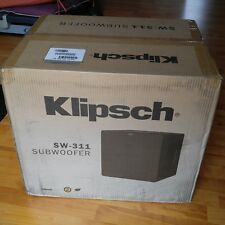 "Klipsch SW-311 10"" 500W powered subwoofer - ""A force to be reckoned with"""