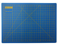 A4 Cutting Mat - extra thick 3mm - blue - Non Slip - crafting - art - model