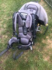 DEUTER KID COMFORT II 2 Two Grey Backpack Baby Infant Child Carrier Rucksack